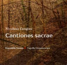 Nicolaus Zangius, Cantiones sacrae